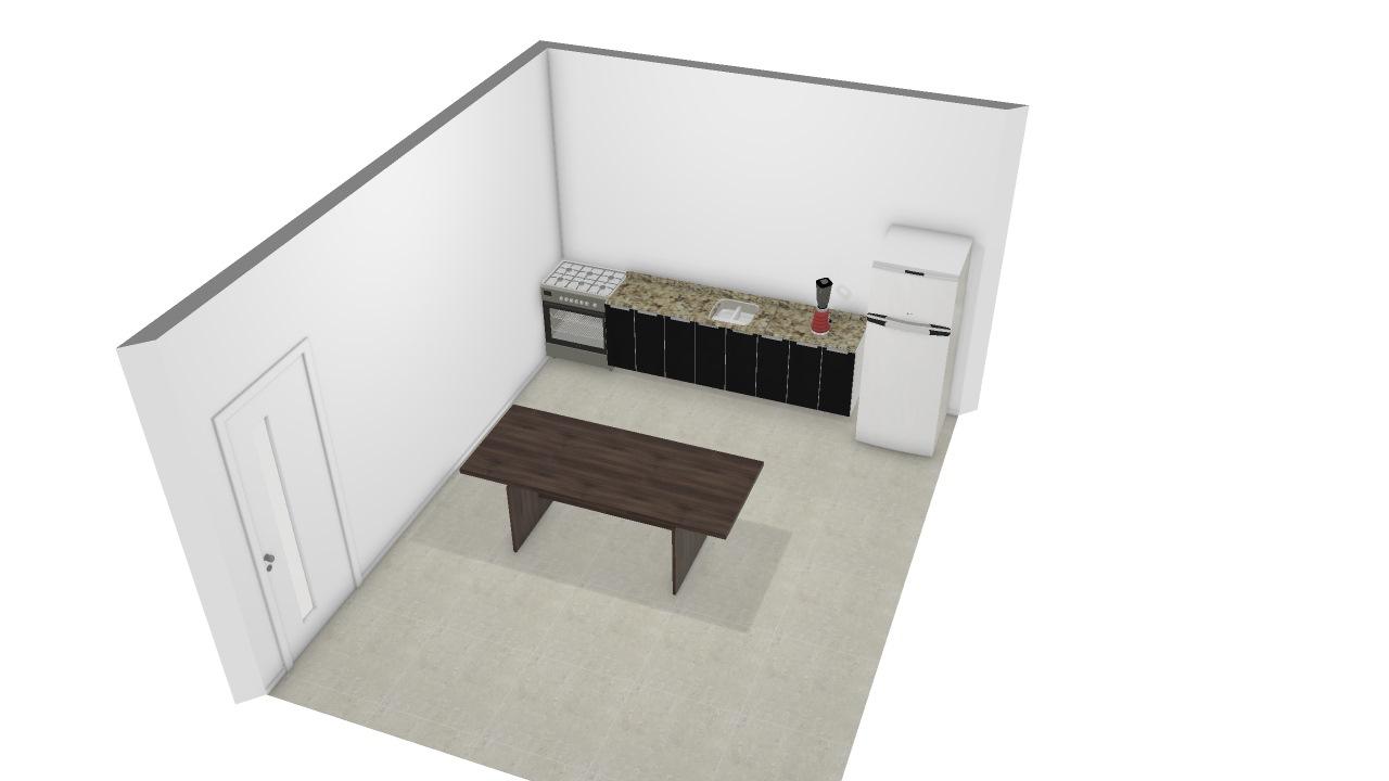 Cozinha e copa 5x4