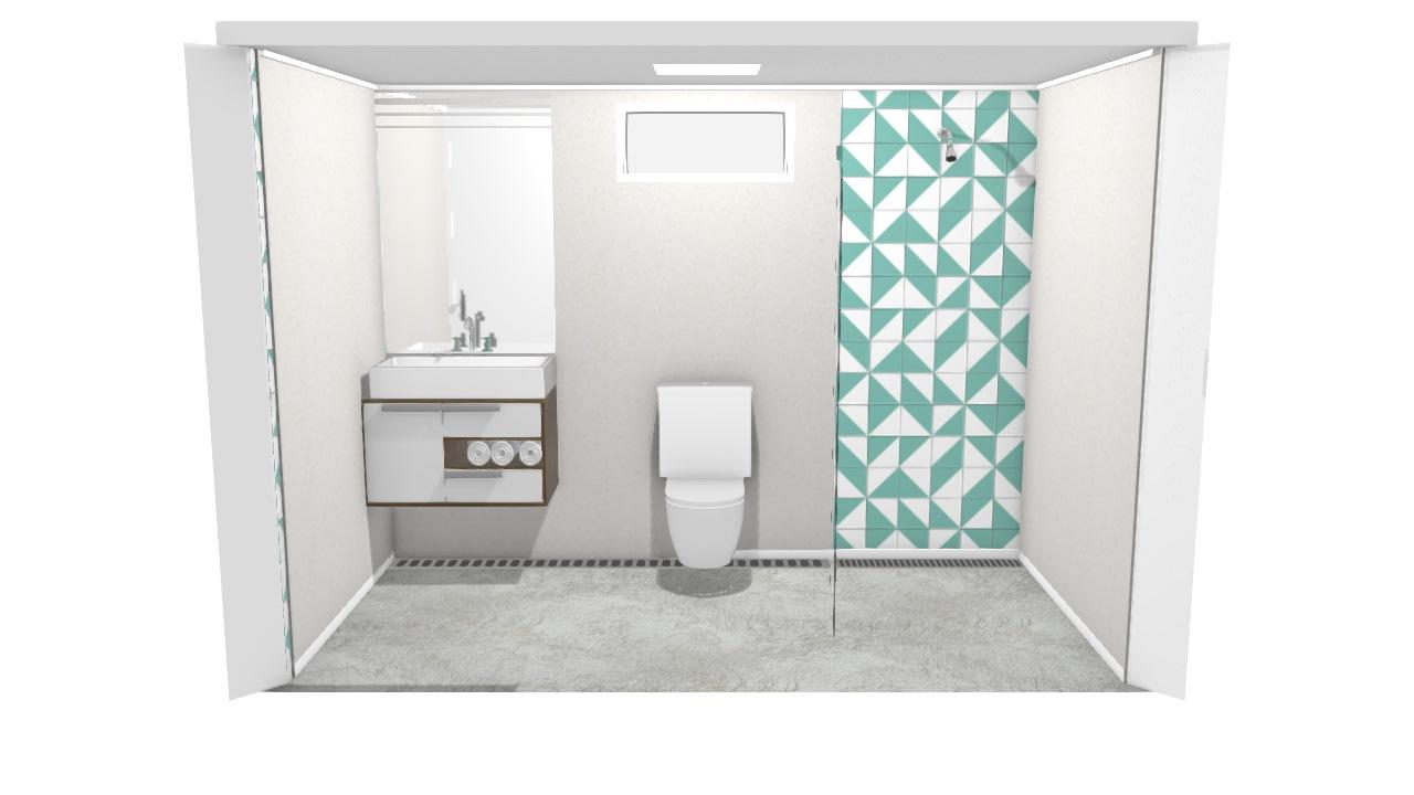 Banheiro de Solteiro