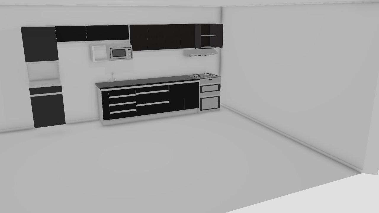cozinhaa preta