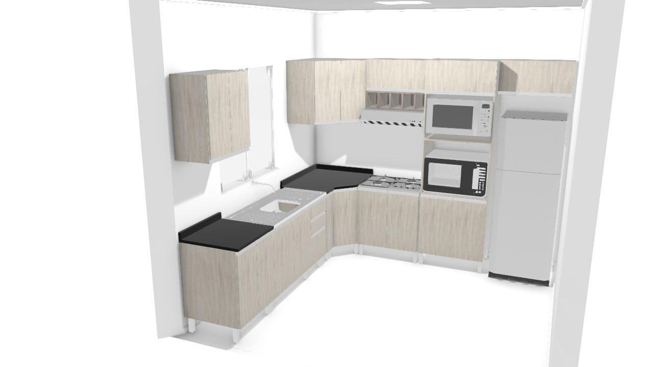 Projeto cozinha Deomar op cliente