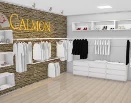Showroom de roupas e acessorios