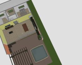casa com piscina sobrado