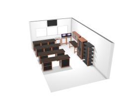 Sala de manutenção ala 8