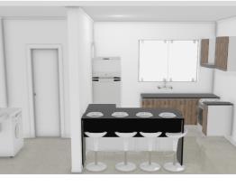 cozinha comprida