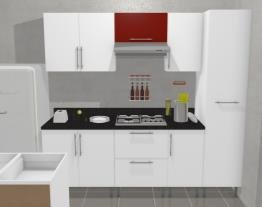 Cocina recta Promart