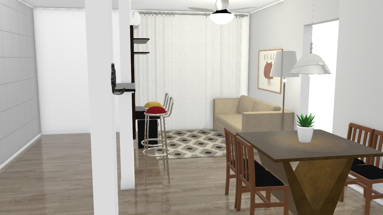 Sala_Cozinha Francis