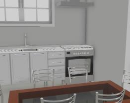 projeto cozinha e area