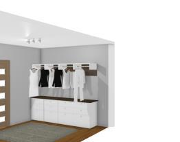 Closet gaveteiros e cabideiros