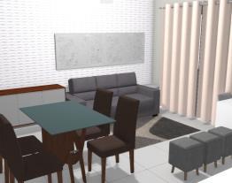 Sala de jantar/estar  Prissyla