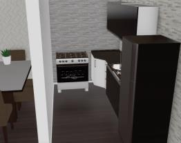 Sala de estar e cozinha - B.L