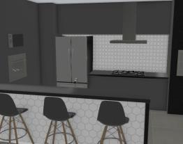 cozinha com peninsula
