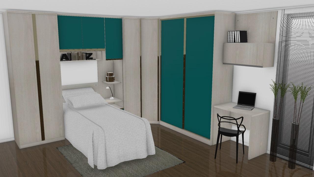 Dormitório Solteiro Prime Plus