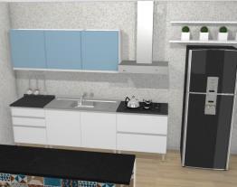 Cozinha Clarice Azul