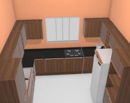 Little House Sala + Cozinha Opção 8