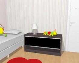 Criado-mudo 1 gaveta com frente de vidro - Ref. 6310 - Quiditá