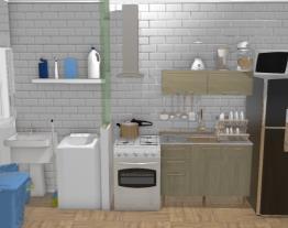 Cozinha Pequena e Estreita