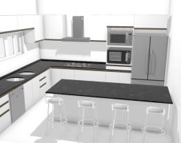 cozinha casa opção 2