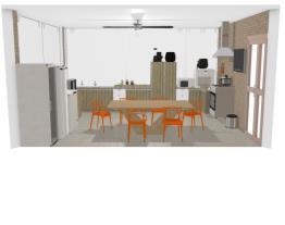 nossa  cozinha de trabalho