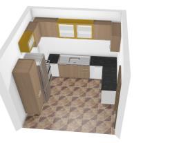 Casa cozinha compacta