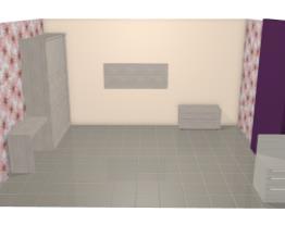 Quarto Casal Completo de 13,65m² com Guarda-roupa, Cabeceira, Escrivaninha e Criados-mudos Araucária - Caaza