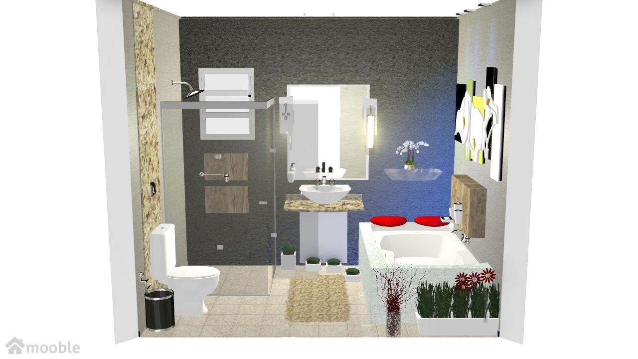 projeto banheiro/suite