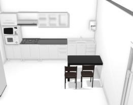Projeto Cozinha Ana Com balcão