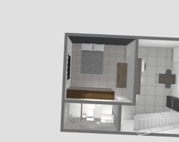 Projeto cozinha, quarto e banheiro