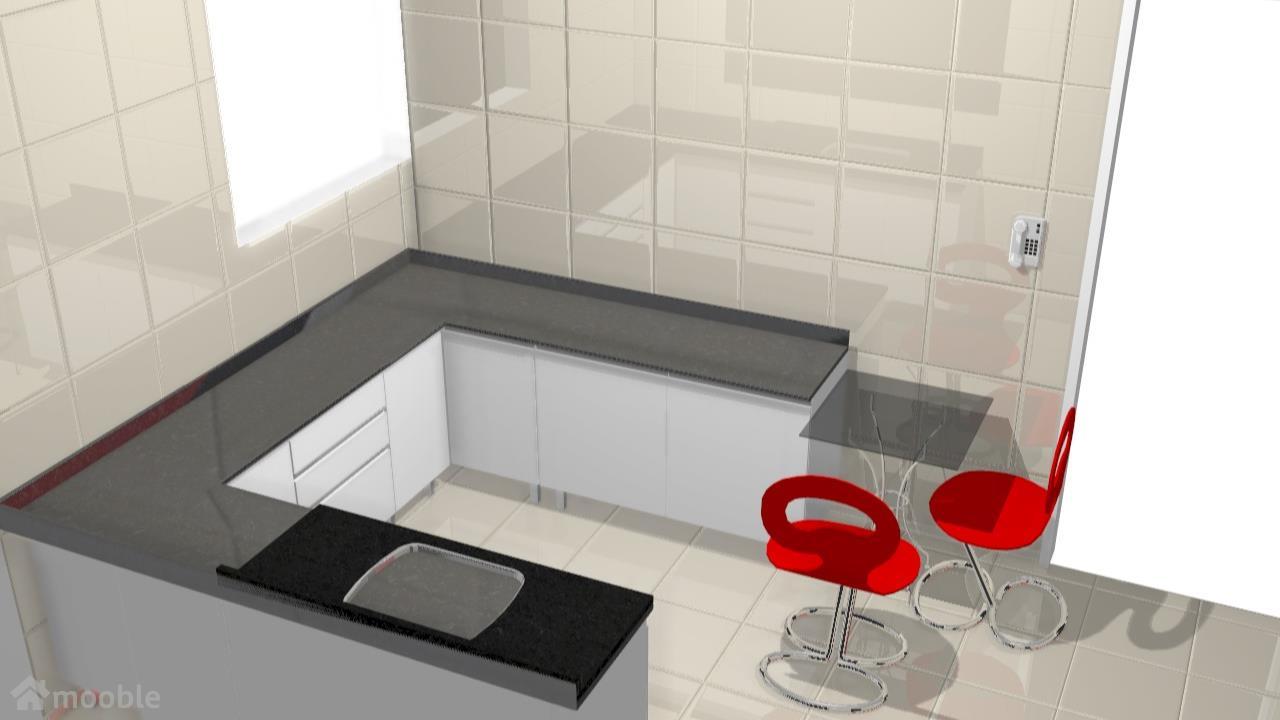 Meu projeto no Mooble A cozinha das minhas noras