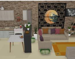 Cozinha e Sala integrada Unixx
