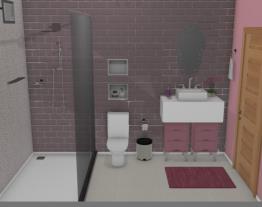 Quarto de menina - Banheiro