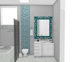 Banheiro Suite com Banheira