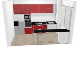 cozinha bordeaux