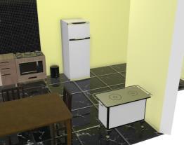 minha cozinha preta