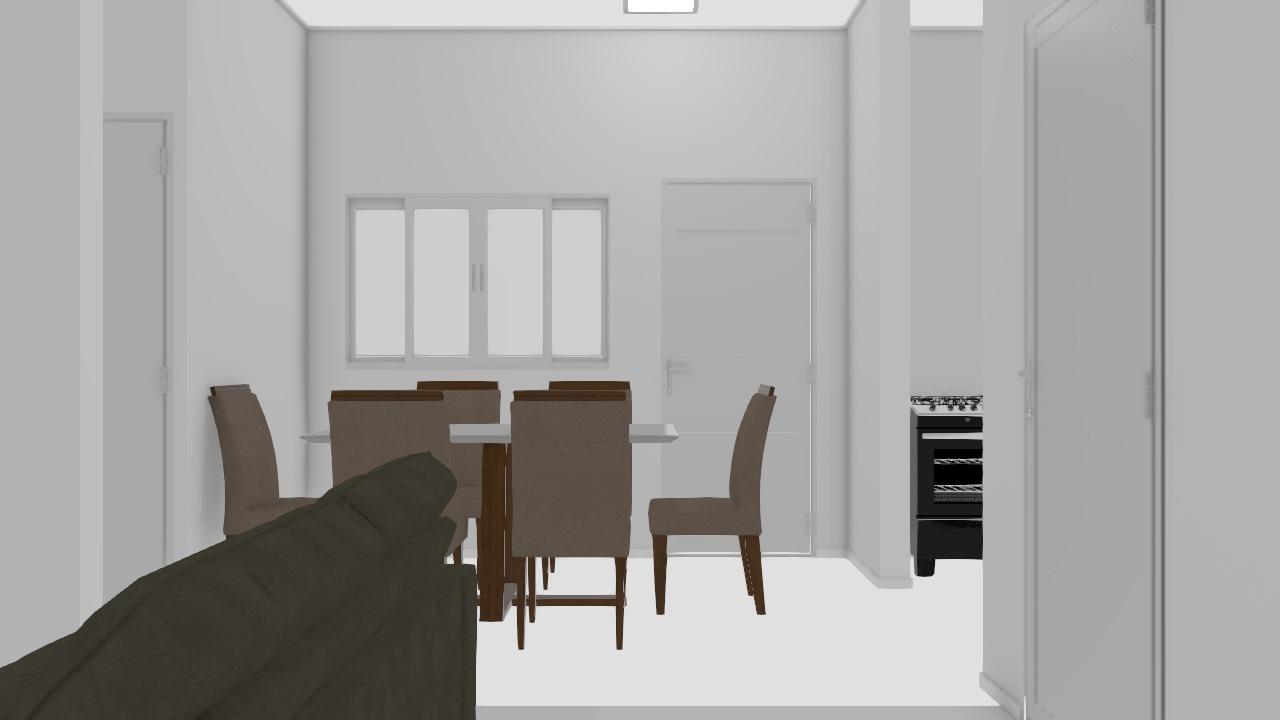 cozinha e sala 3