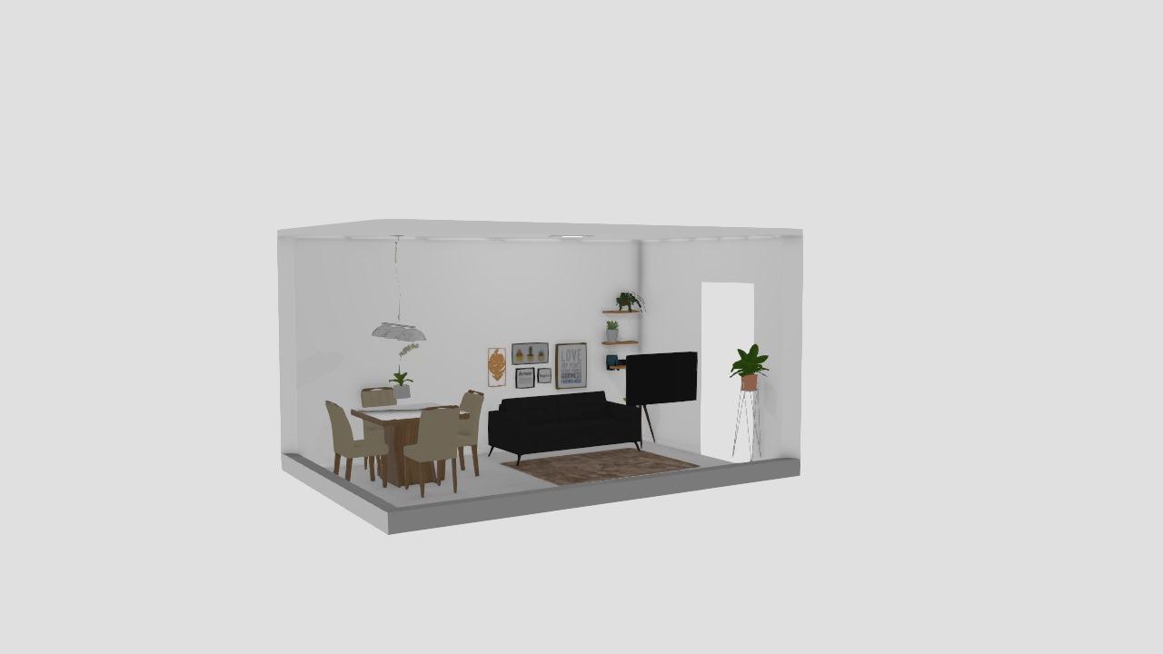 Projeto sala de estar entegrada