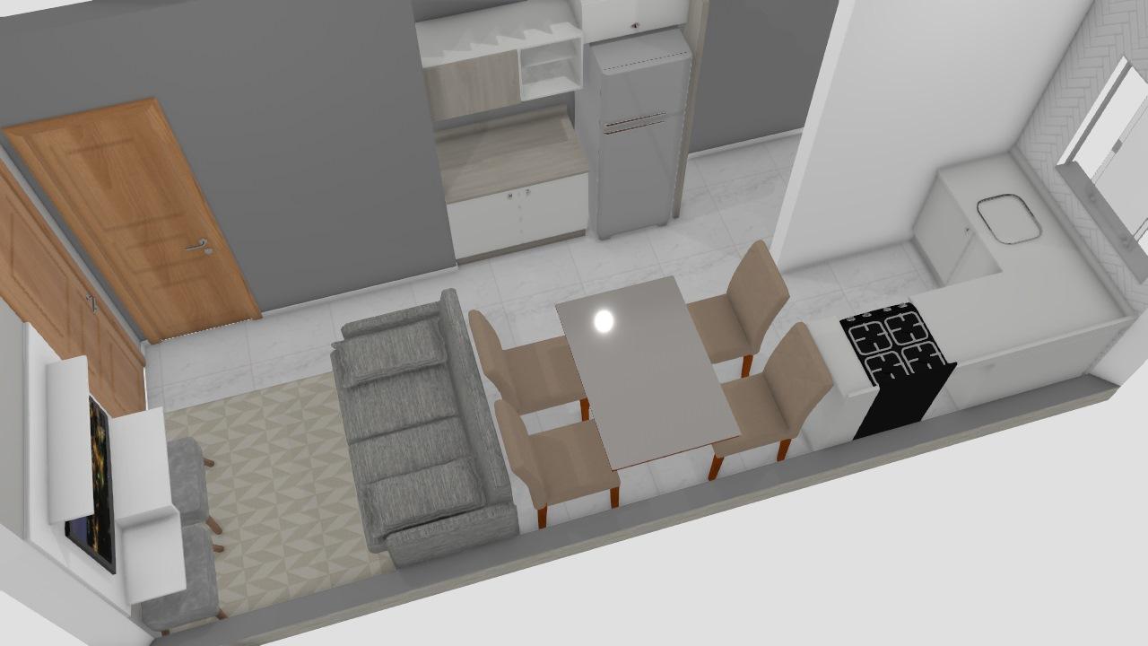Meu projeto no Mooble cozinha 2o. piso c