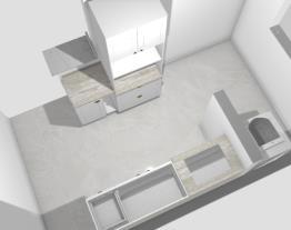 Projeto Cozinha Village Royalle ao 2 quartos