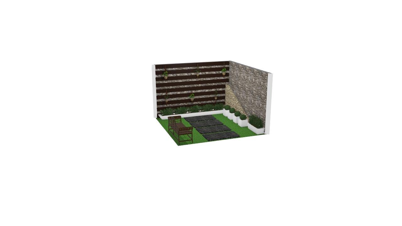 Jardim externo