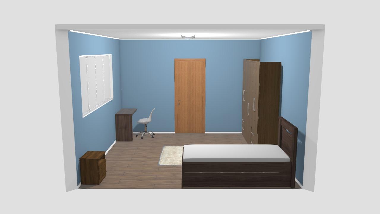 projeto quarto/escritorio