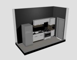 Cozinha Projeto Casa Revit