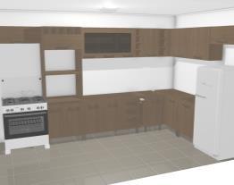 projeto de cozinha Moveis LUCIANE