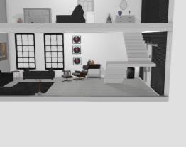 sala casa 2 andares