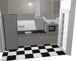 Meu projeto no Moobleprojeto inacabado cozinha