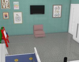 quarto dos bebes gêmeos