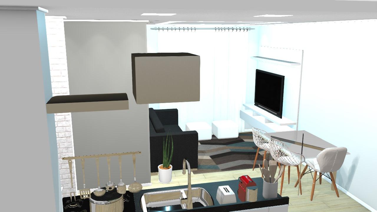 Sala e Cozinha Integrada New