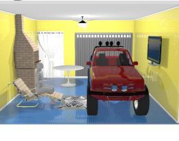 Meu  sala garagem