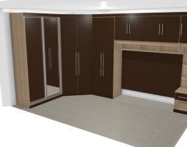 Quarto mobilhado (3) (cabideiro+calceiro+ gavetas)
