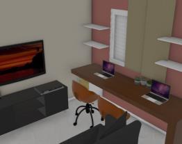 Meu projeto Leroy Merlin - Sala e Home