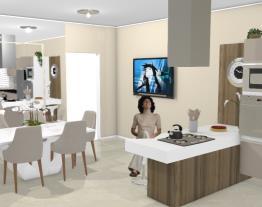 2 Cozinha confeitaria com jantar - Graziela Lara