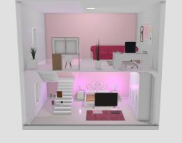 Meu projeto de quarto com dois andares